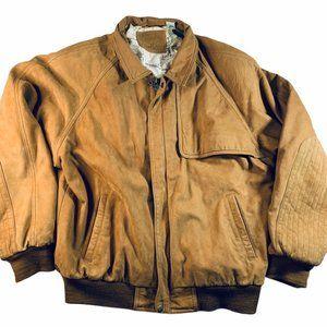 Vintage Marlboro Adventure Team leather jacket L